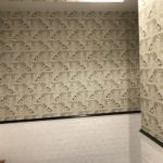 Schumacher Wallpaper Installation Restaurant